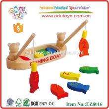 Fisch-Fischen-Spiel - Magnetisches hölzernes Spielzeug