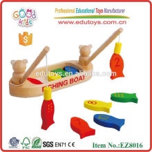 Fish Fishing Game - Magnetic Wooden Toy