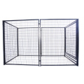 Galvanized link dog dog kennel