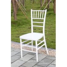 Новый дизайн Белый банкет смолы chiavari стул