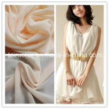 Mousseline de polyester de gros moins cher pour des vêtements