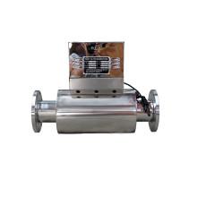 Descaler eletrônico material de aço inoxidável da água com conexão da flange de Ansm