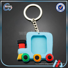 car shaped pvc rubber keychain