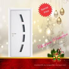 Laminado de chapa de la promoción de Navidad diseños de puerta de madera
