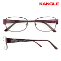 Fashion metal frame optical glasses high quality stainless steel reading frame
