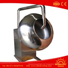 Schokoladen-Beschichtungs-Maschinen-Erdnuss-Beschichtungs-Maschine
