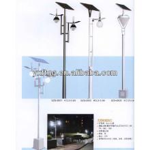 133w llevó poste de luz de calle