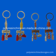 Zinc Alloy Key Chain for London Tourist Crafts