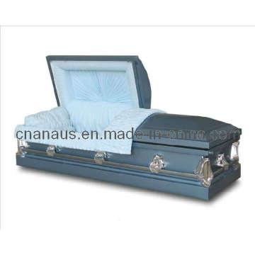 Estilo americano 20 Ga aço caixão (2051014)