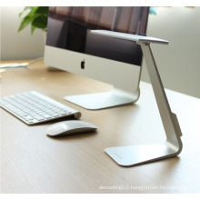 LED Usb chargeable ultra-thin adjustable eyecare study fold desk lamp
