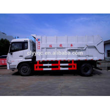 Dongfeng Tianjin garbage dump truck with capacity 14cbm