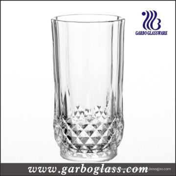 Super White Glass Cup with Diamond Design (GB040809ZS)
