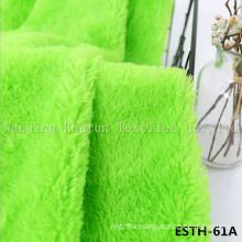 PV Plush/ Polyboa / Tricot Velboa / Warp Knit Boa Esth-61A