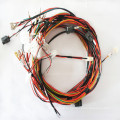 Automobile and automotive engine wiring harness