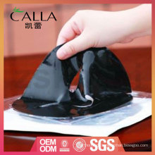 Máscara de gel preta personalizada com alta qualidade