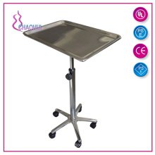 Stainless Steel Mayo Tray For Tattoo Furniture
