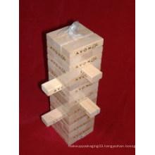 54PCS Wooden Jenga