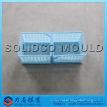Molde de la cesta de la ropa de Wcker y molde de inyección plástico