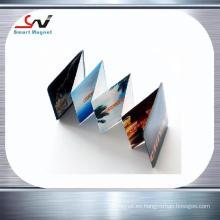 Imán del pvc de la decoración de la fabricación de papel de cobre