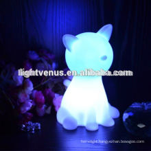 sleeping lamp for Dog and Cat shape ambience home decors kids rechargeable led
