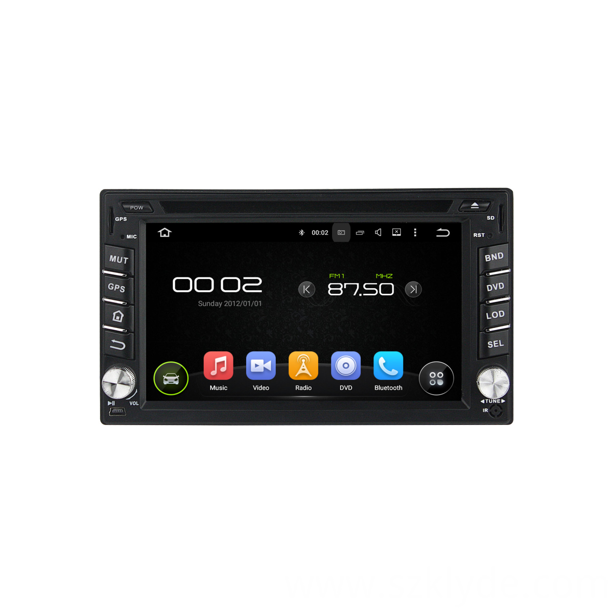 Multimedia car dvd universal player