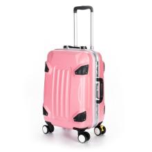 Hard Shell Luggage Plastic Suitcase Sets Trolley Luggage