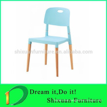 Hot Sale Leisure Living Room Plastic Wood Chair