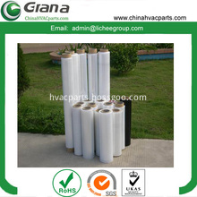 100% new virgin PE stretch film for packing pallets