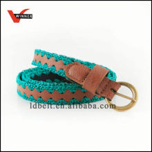 Popular Ladies Braided Leather Belts