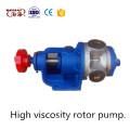 Bomba de transporte de líquidos de alta viscosidad Nyp, Bomba de aislamiento de rotor de transporte de líquidos de alta viscosidad