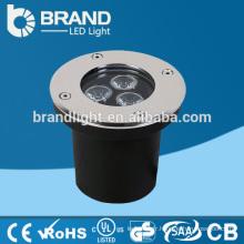 Hot Sales AC85-265V Blanc chaud 3W LED Underground Light, CE RoHS