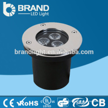 Hot Sales AC85-265V Warm White 3W LED Underground Light,CE RoHS