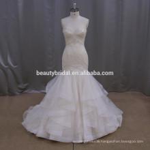 Flattering butterfly mermaid wedding gowns bridal wedding dress yiwu