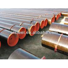 astm a53 / a106 gr.b rugosité de tuyau en acier au carbone
