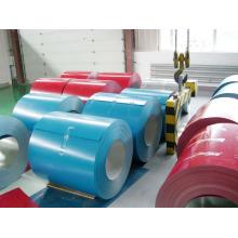 Warme Farbe getauchte dünne Dicke PPGI Steckverfahren verzinkte Stahl-Coils