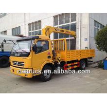 Dongfeng camión grúa de carga de 6 toneladas