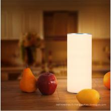 Nouvelle lampe de table de fantaisie de protection des yeux de conception pour lire et travailler la lampe de lecture latérale de lit menée flexible