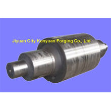 55cr, 35crmo ,70cr3mo Steel Forging Back Up Rollers For Rolling Mill , Painted And Winding