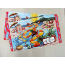 Promotional 3D Lenticular PP Table Placemat Table Mat