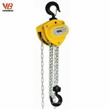 équipement de levage manuel chaine à chaîne truss palan à chaîne