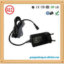 Shaver use 15v 500ma ac dc adapter
