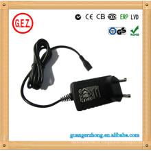 Shaver use 15v 500ma ac dc adapter