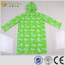 SUNNYHOPE PVC hooded fashion raincoats