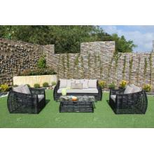 Nizza Design Synthetische Rattan Sofa Set Für Outdoor Garten Oder Wohnzimmer Wicker Möbel