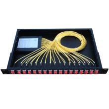 24 caixa terminal da fibra da caixa terminal IP65 da fibra de núcleo / caixa de distribuição