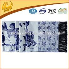 Novo design baixo MOQ clássico lenço de xale viscosa