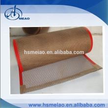 china hot sales 0.2mm thickness FDA ptfe teflon fiberglass conveyor belt with good price