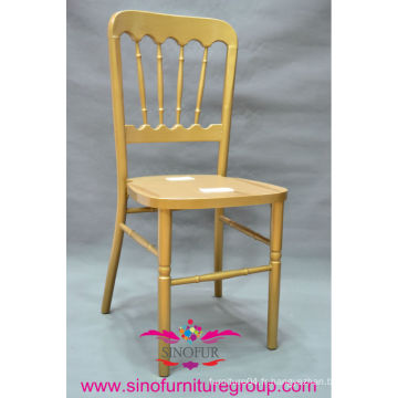 Chaises en chariot en bois en gros, chaise versailles