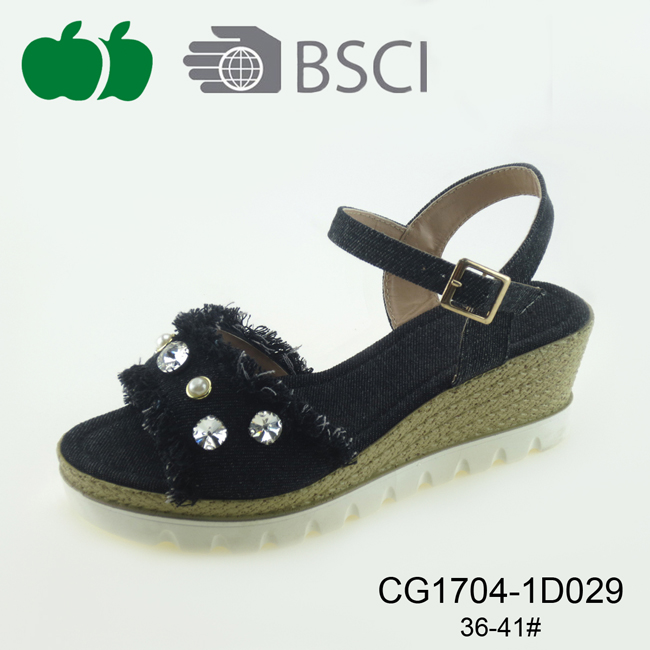 women summer wedge sandal