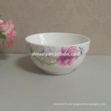 Porzellansuppe Schüssel Keramik Reis Schüssel Hafer Schüssel
